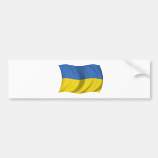 Flag of Ukraine Bumper Sticker