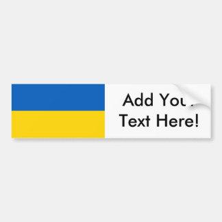 Flag of Ukraine Bumper Sticker