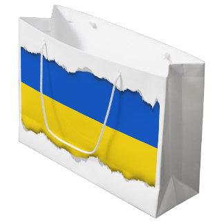 Flag of Ukraine Large Gift Bag