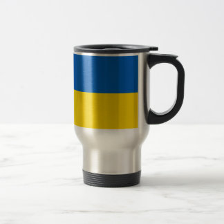 Flag of Ukraine Travel Mug