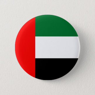 Flag of United Arab Emirates on Pin / Button Badge