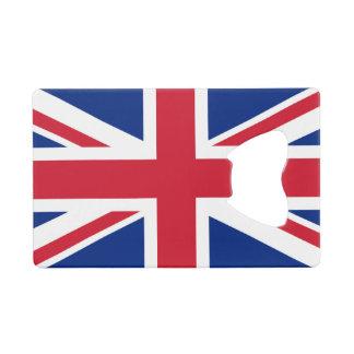 Flag of  United Kingdom Credit Card Bottle Opener