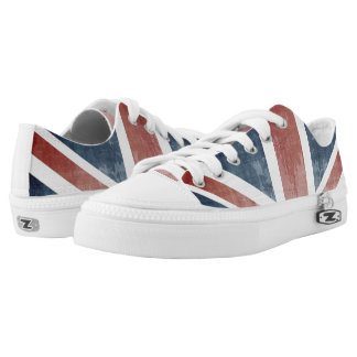 Flag Of United Kingdom Low Tops