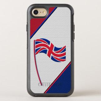 Flag of United Kingdom OtterBox Symmetry iPhone 7 Case