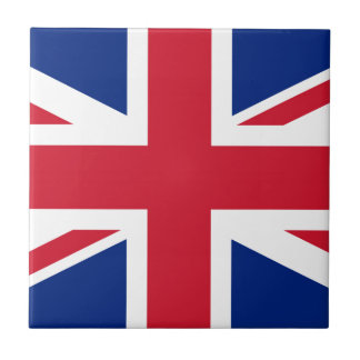 Flag of United Kingdom. Small Square Tile