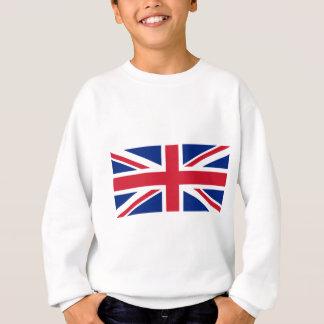 Flag of United Kingdom. Sweatshirt