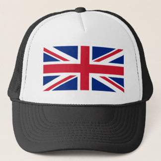 Flag of United Kingdom. Trucker Hat
