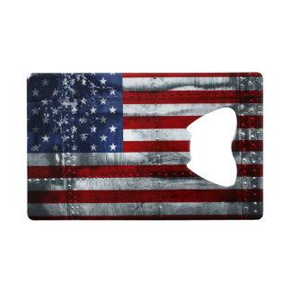 Flag of United States Credit Card Bottle Opener