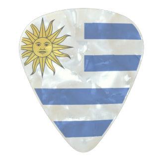 Flag of Uruguay Guitar Picks