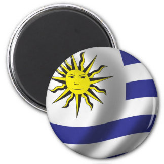 Flag of Uruguay Magnet