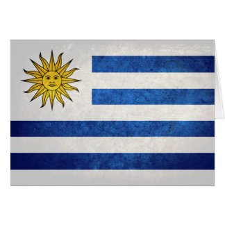 Flag of Uruguay Note Card