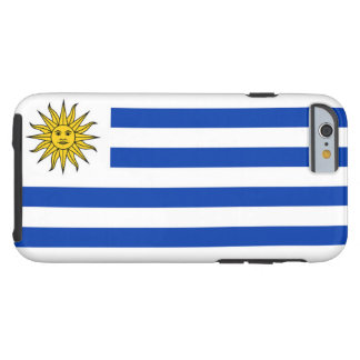 Flag of Uruguay Tough iPhone 6 Case