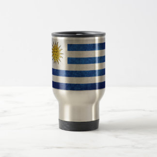 Flag of Uruguay Travel Mug