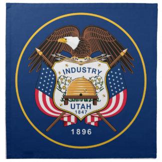 Flag Of Utah Napkin