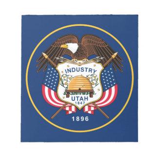 Flag Of Utah Notepad