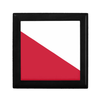 Flag of Utrecht (city) Small Square Gift Box