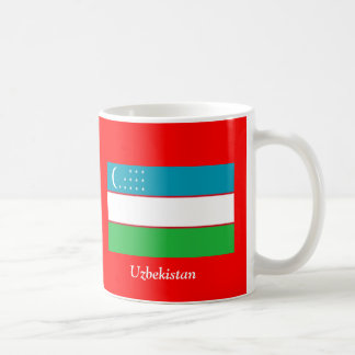 Flag of Uzbekistan Coffee Mug