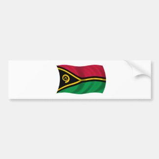 Flag of Vanuatu Bumper Sticker