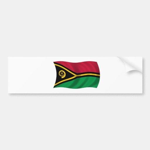 Flag of Vanuatu Bumper Stickers