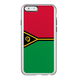 Flag of Vanuatu Silver iPhone Case Incipio Feather® Shine iPhone 6 Case