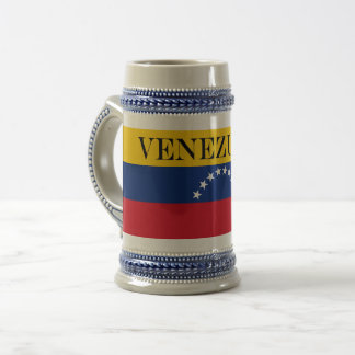 Flag of Venezuela Beer Stein
