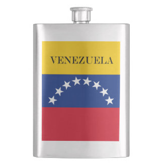 Flag of Venezuela Hip Flask