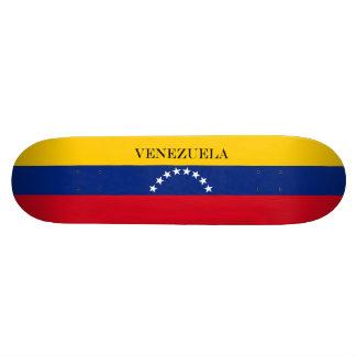 Flag of Venezuela Skate Board