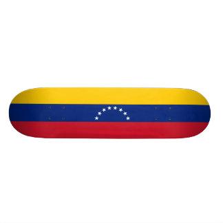 Flag of Venezuela Skateboard Deck