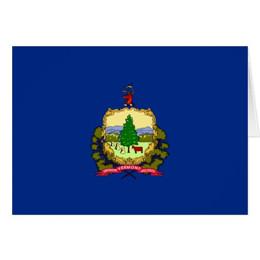 Flag of Vermont Greeting Card