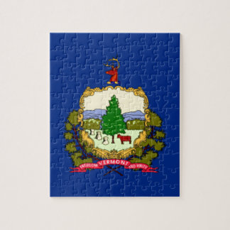 Flag Of Vermont Jigsaw Puzzle