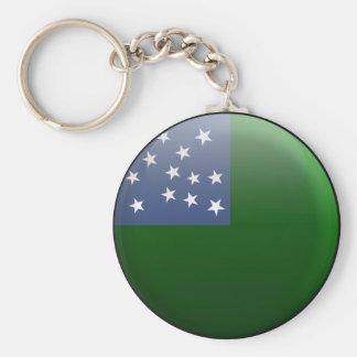 Flag of Vermont Republic Key Ring