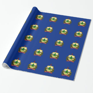 Flag Of Vermont Wrapping Paper