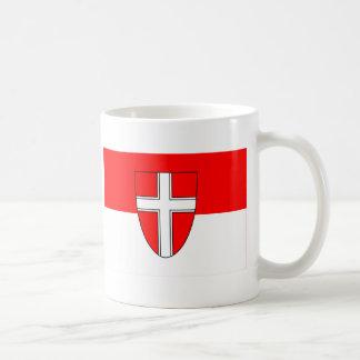 Flag of Vienna, Austria Basic White Mug