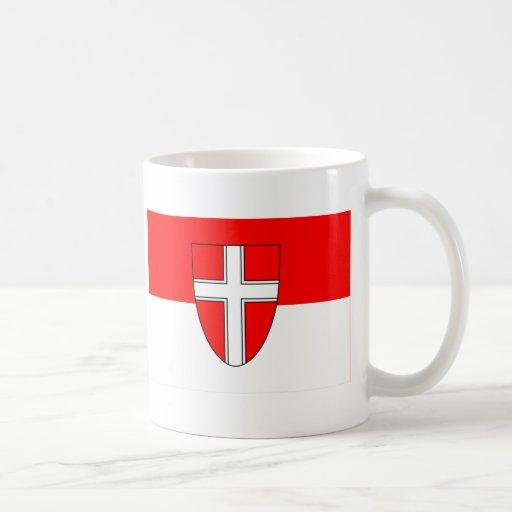 Flag of Vienna, Austria Coffee Mugs