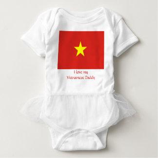 Flag of Vietnam Baby Bodysuit