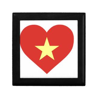 Flag of Vietnam - I Love Viet Nam - Cờ đỏ sao vàng Gift Box