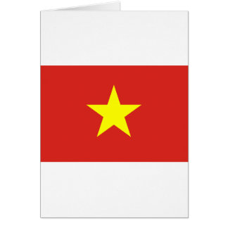 Flag of Vietnam - Quốc kỳ Việt Nam Card