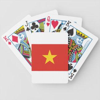 Flag of Vietnam - Quốc kỳ Việt Nam Poker Deck