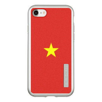 Flag of Vietnam Silver iPhone Case