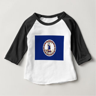 Flag Of Virginia Baby T-Shirt