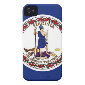 Flag Of Virginia iPhone 4 Cover