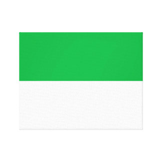 Flag of Vlieland Canvas Print