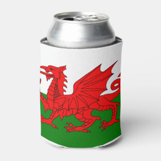 Flag of Wales Can Cooler