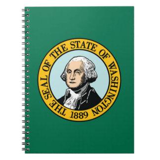 Flag Of Washington Notebook