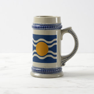Flag of West Indies Federation Beer Stein