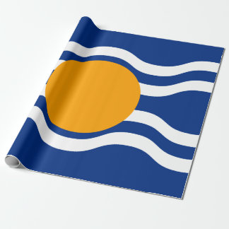 Flag of West Indies Federation Wrapping Paper