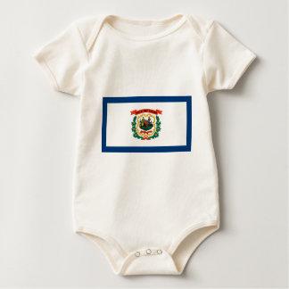 Flag Of West Virginia Baby Bodysuit
