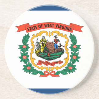 Flag Of West Virginia Coaster