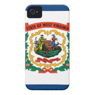 Flag Of West Virginia iPhone 4 Case-Mate Case