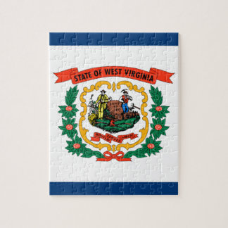 Flag Of West Virginia Jigsaw Puzzle